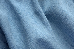 Blue Denim background. Close-up of blue denim background Stock Image