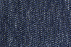 Blue Denim Background Stock Photo