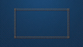 Blue denim background 02 Royalty Free Stock Photography