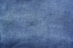 Blue denim background texture Stock Images