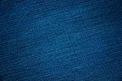 Blue denim background and textured Stock Photography
