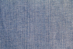 Blue denim. Stock Image