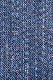 Blue denim fabric. Stock Photography