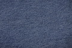 Blue denim fabric background Royalty Free Stock Photo