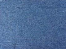 Blue Denim Fabric Background Stock Photo