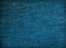 Blue denim fabric texture for background. Dark blue denim fabric texture for background Royalty Free Stock Image