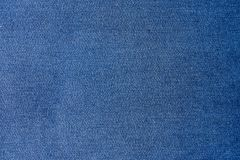 Blue denim jean texture and background. Blue denim jean texture background Royalty Free Stock Photography