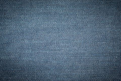 Blue denim jean texture background Stock Photography