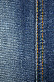Blue denim jean texture background Royalty Free Stock Images