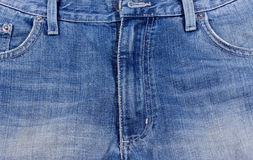 Blue denim jeans Stock Photo