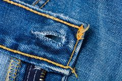 Blue Denim Jeans Stock Photography