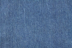 Jeans cloth as background Royalty Free Stock Photo