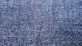 Blue denim jeans cloth background Royalty Free Stock Photo