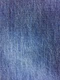 Blue Denim Jeans Fabric Texture Royalty Free Stock Photos