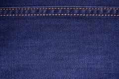 Blue denim Stock Image