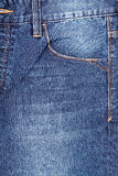 Blue Denim Jeans Pocket Royalty Free Stock Images