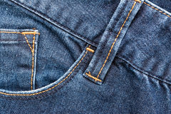 Blue Denim Jeans Pocket Royalty Free Stock Photos