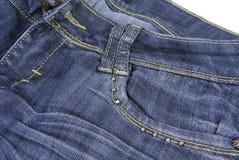 Blue denim jeans Royalty Free Stock Photos