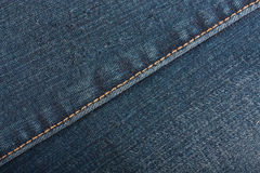Blue denim jeans texture Stock Photos