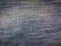 Blue denim jeans texture. Stock Photos