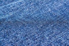Blue Denim Jeans Texture Stock Image
