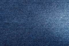 Blue Denim Jeans Texture Stock Photography
