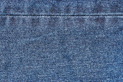 Blue Denim Jeans Texture Royalty Free Stock Images