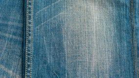 Blue denim jeans texture, background Stock Image
