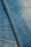 Blue denim jeans texture, background Royalty Free Stock Photos
