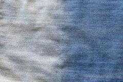 Blue denim jeans texture background Royalty Free Stock Images