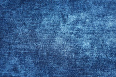 Blue denim jeans texture and background.  Stock Images