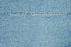 Blue denim jeans texture background Royalty Free Stock Image