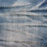 Blue denim jeans texture, background. Stock Images