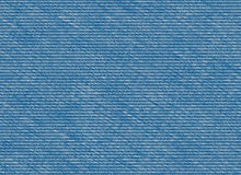 Blue denim jeans texture Royalty Free Stock Photo