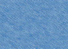 Blue denim jeans texture Royalty Free Stock Image