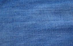Blue denim or jeans texture Stock Images