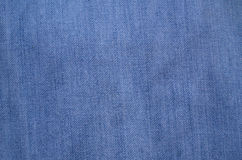 Blue denim or jeans texture Royalty Free Stock Photos