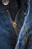 Blue denim jeans Stock Image
