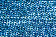 Blue denim macro Royalty Free Stock Images