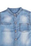 Blue Denim Shirt Royalty Free Stock Photos