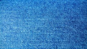 Blue Denim Textile Royalty Free Stock Photo