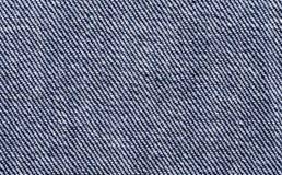 Blue denim textile macro photo Royalty Free Stock Photo