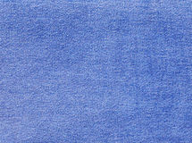 Blue denim textile texture. Stock Image
