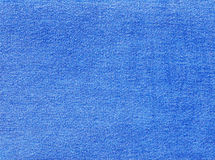Blue denim textile texture. Stock Photography