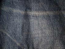 Blue denim textile texture. Blue denim textile texture , Used for background image , Or design work Royalty Free Stock Photo