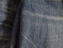 Blue denim textile texture. Used for background image , Or design work Stock Photo
