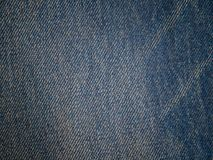 Blue denim textile texture. Blue denim textile texture , Used for background image , Or design work Royalty Free Stock Photography