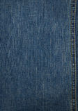 Blue denim texture Stock Image