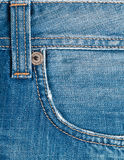 Blue denim texture Royalty Free Stock Photos