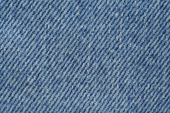 Blue denim texture Stock Images